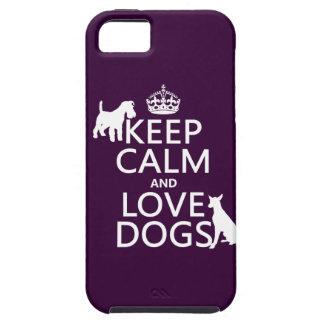 平静および愛犬-すべての色--を飼って下さい iPhone SE/5/5s ケース