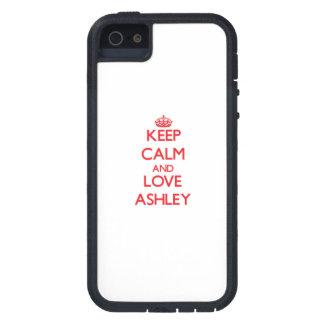 平静および愛Ashleyを保って下さい iPhone SE/5/5s ケース