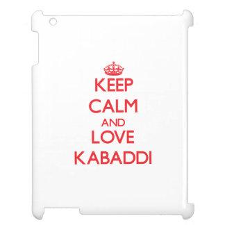 平静および愛Kabaddiを保って下さい iPad カバー