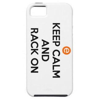 平静および棚を保って下さい iPhone SE/5/5s ケース
