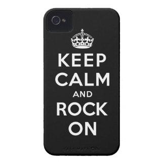平静および石を保って下さい Case-Mate iPhone 4 ケース