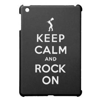 平静および石を保って下さい iPad MINI カバー