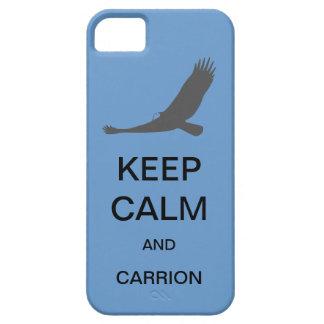 平静および腐肉の穹窖のiPhone 5の場合保って下さい iPhone SE/5/5s ケース