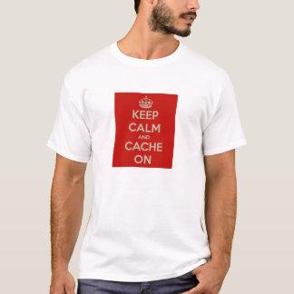 平静および隠し場所を保って下さい! Tシャツ