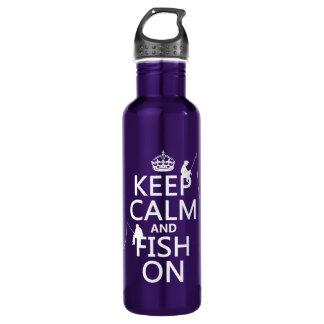 平静および魚のオンカスタマイズ可能な色を保って下さい ウォーターボトル