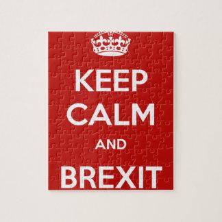 平静およびBrexitを保って下さい ジグソーパズル