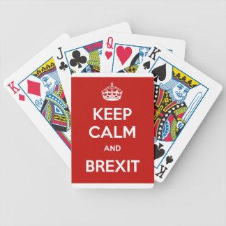 平静およびBrexitを保って下さい バイスクルトランプ