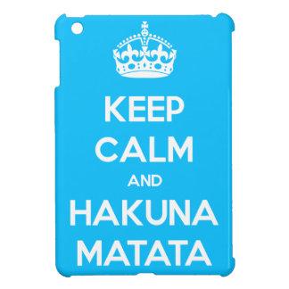 平静およびHakuna Matataを保って下さい iPad Miniケース