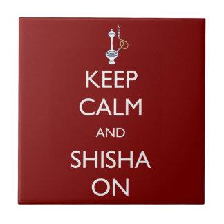 平静およびShishaを保って下さい タイル