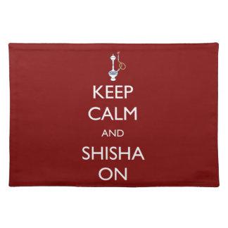 平静およびShishaを保って下さい ランチョンマット