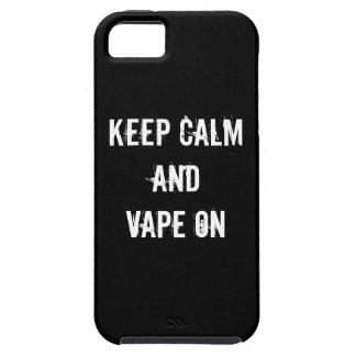 平静およびVapeを保って下さい iPhone 5 ケース