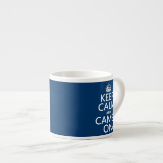 平静そしてラクダをの飼って下さい(すべての色) エスプレッソカップ