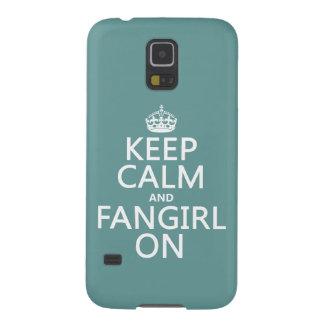 平静そしてFangirlをの保って下さい(すべての色で) Galaxy S5 ケース