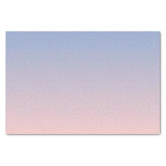平静のローズクォーツの青いピンクのグラデーション 薄葉紙
