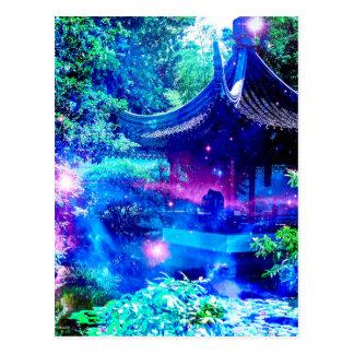 平静の庭 ポストカード