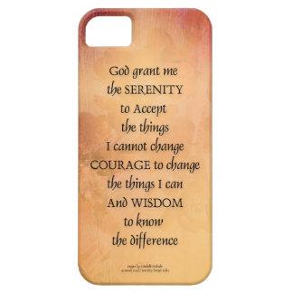 平静の祈りの言葉のマルメロの塀1 iPhone SE/5/5s ケース