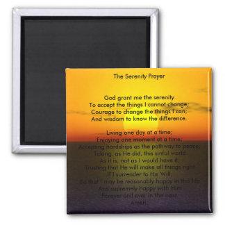 平静の祈りの言葉の磁石 マグネット