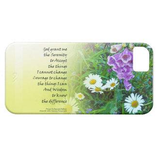 平静の祈りの言葉の花園 iPhone SE/5/5s ケース