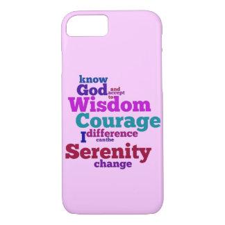 平静の祈りの言葉のwordle iPhone 7ケース
