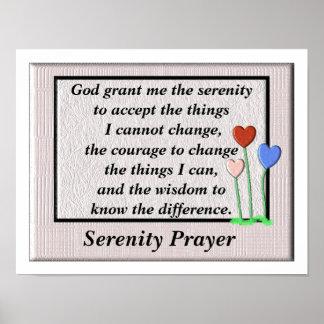 平静の祈りの言葉ポスター ポスター