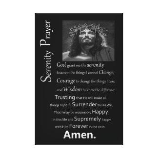 平静の祈りの言葉 キャンバスプリント