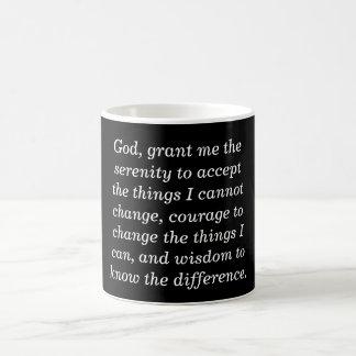 平静の祈りの言葉-コーヒー・マグ コーヒーマグカップ