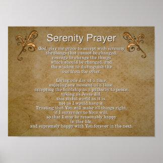 平静の祈りの言葉II -- 芸術のプリント ポスター
