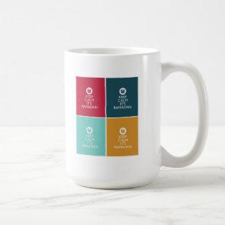 平静をラマダーン保って下さい コーヒーマグカップ