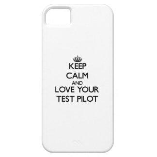 平静を保ち、あなたのテストパイロットを愛して下さい iPhone SE/5/5s ケース