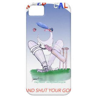 平静を保ち、あなたの水兵、贅沢なfernandesを締めて下さい iPhone SE/5/5s ケース