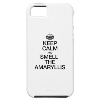 平静を保ち、アマリリスをかいで下さい iPhone SE/5/5s ケース
