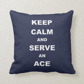 平静を保ち、エース、テニスの枕に役立って下さい クッション
