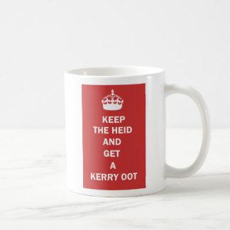平静を保ち、ケリーOotのマグを得て下さい コーヒーマグカップ