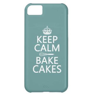 平静を保ち、ケーキを焼いて下さい iPhone5Cケース