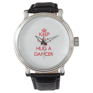 平静を保ち、ダンサーを抱き締めて下さい 腕時計
