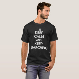 平静を保ち、ビデオゲームのワイシャツの捜索を保って下さい Tシャツ