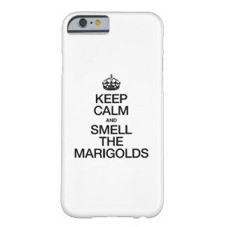 平静を保ち、マリーゴールドをかいで下さい BARELY THERE iPhone 6 ケース