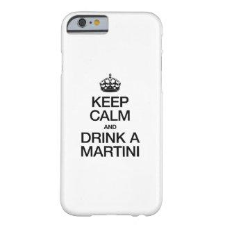 平静を保ち、マルティーニを飲んで下さい BARELY THERE iPhone 6 ケース