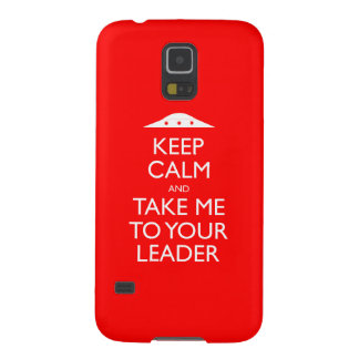 平静を保ち、リーダーのSamsungのあなたの例に私を連れて行って下さい Galaxy S5 ケース