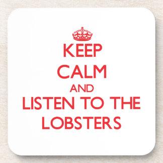 平静を保ち、ロブスターに聞いて下さい コースター