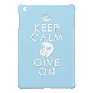 平静を保ち、与えて下さい iPad MINIカバー