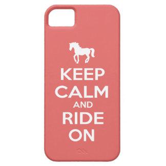 平静を保ち、乗って下さい iPhone SE/5/5s ケース
