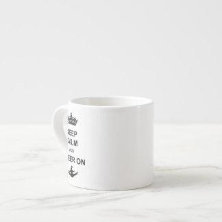 平静を保ち、元気づけて下さい エスプレッソカップ
