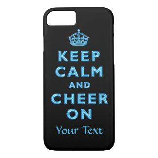平静を保ち、名前入りなiPhoneで7つのケースを元気づけて下さい iPhone 8/7ケース
