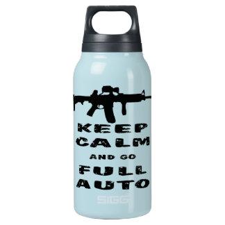 平静を保ち、完全に自動車行って下さい 断熱ウォーターボトル