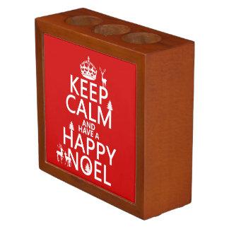 平静を保ち、持って下さい幸せなNoel (クリスマス)を ペンスタンド