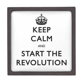 平静を保ち、改革を始めて下さい ギフトボックス
