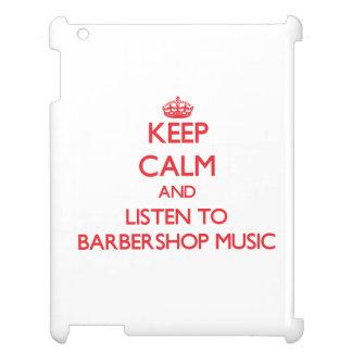 平静を保ち、理髪店音楽に聞いて下さい iPad カバー