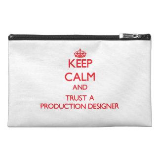 平静を保ち、生産デザイナーを信頼して下さい トラベルアクセサリーバッグ