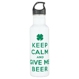 平静を保ち、私にビールを与えて下さい ウォーターボトル